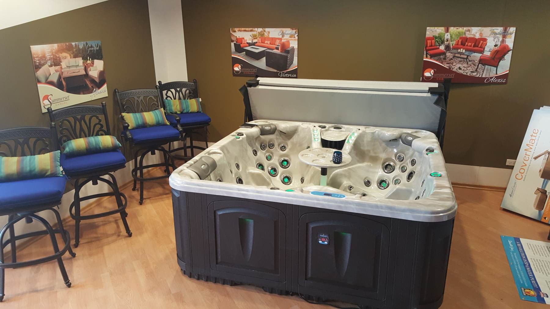 Clearwater Spas and other Hot Tub Selections